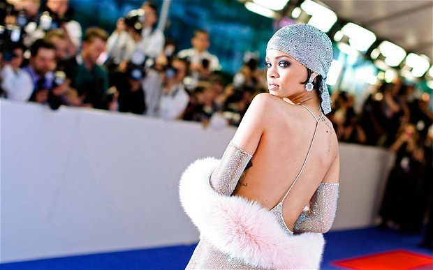 Rihanna's 'sexually suggestive' perfume ad restricted in UK