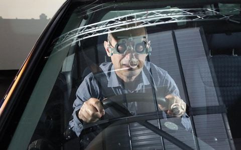 Driving with bad eyesight – we see what it's like for the millions of myopic motorists on Britain's roads