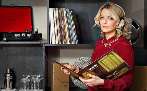 W Hotel London offering vinyl record service to guests