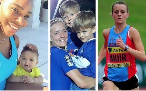 'I felt I got punished for having children' - Motherhood: One of sport's final barriers