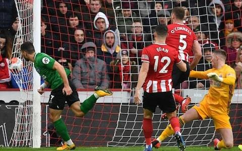 Neal Maupay header helps Brighton edge away from drop zone with draw at Sheffield United