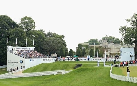 Win four tickets to a day at the BMW PGA Championship at Wentworth