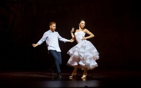 Somnium: A Dancer's Dream, Sadler's Wells, review: Neil and Katya's sweet Strictly love story – but with no kissing in sight