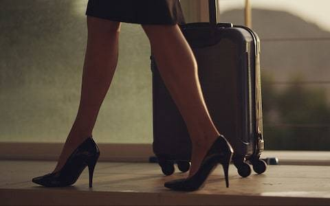 Female cabin crew must wear heels - unless they have a doctor's note, airline says