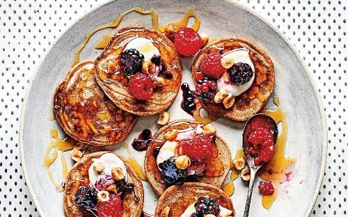 15-minute gluten-free pancakes
