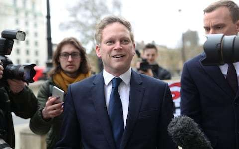 Politics latest news: Cure for coronavirus could be 'more harmful' than pandemic, Grant Shapps says as he warns against crashing UK economy