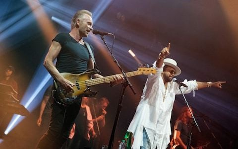 Sting and Shaggy, The Roundhouse, review: (almost) every little boombastic thing they did was magic
