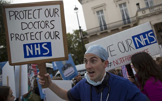 "Letters: Twenty years from now, people will ask, ""Why did all our doctors leave?"""