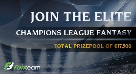 Free trial: Test your skills playing Champions League weekly fantasy at FanTeam