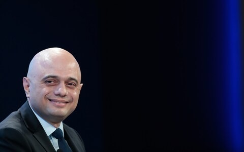 Sajid Javid launches charm offensive on British businesses at Davos