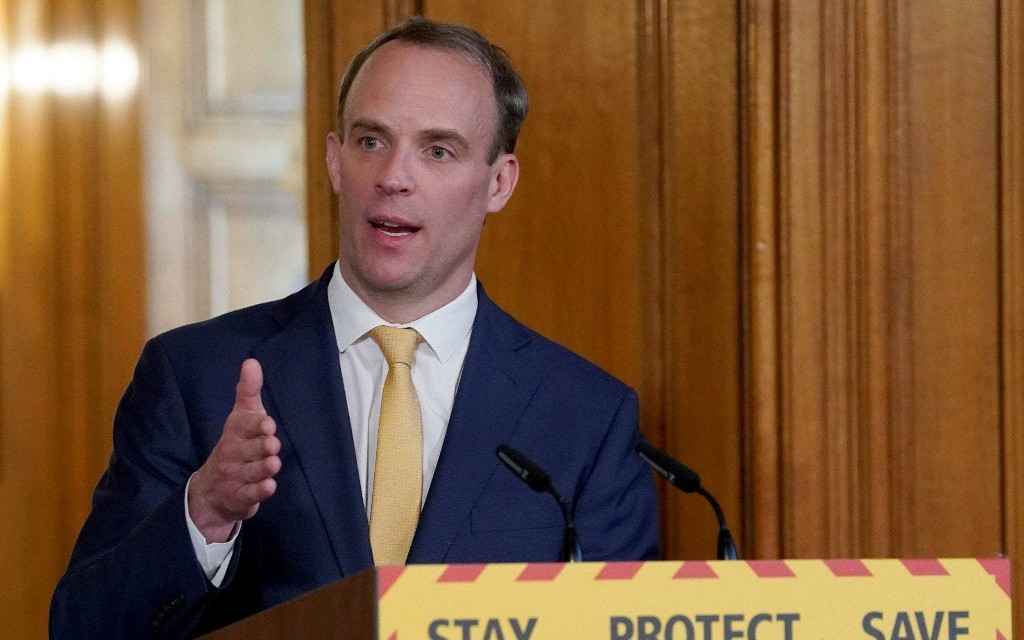 Questions over extent of Dominic Raab's powers while deputising for Boris Johnson