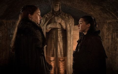 Game of Thrones director drops dark hint about violent fate for Arya and Sansa