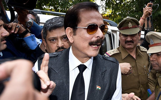 Indian billionaire Subrata Roy mortgages Grosvenor House and New York's Plaza hotel to get out of jail