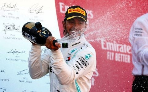 Flawless Lewis Hamilton leads home Valtteri Bottas for Spanish GP win and fifth consecutive Mercedes one-two