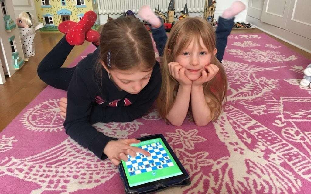 This excellent free site will teach your child to play chess during lockdown
