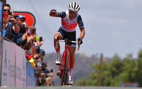 Tour Down Under 2020, stage three – full results and standings: Richie Porte powers into lead as Britain's Simon Yates shines
