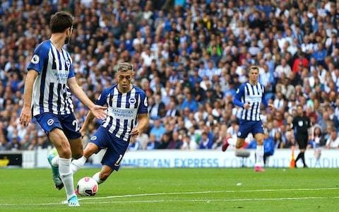 Stunning debut goal from Leandro Trossard secures point for Brighton as it finishes honours even against West Ham