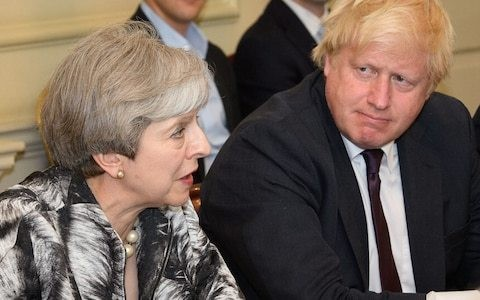 There is only one way Boris Johnson can avoid going down in history as a disastrous footnote to Theresa May