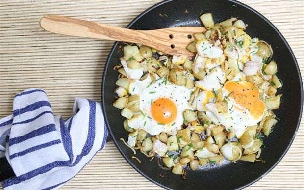 Speedy weeknight suppers: smoked haddock and chive hash recipe