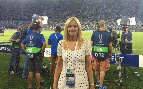 Female football presenter hits back at vile sexist abuse after criticising Messi penalty