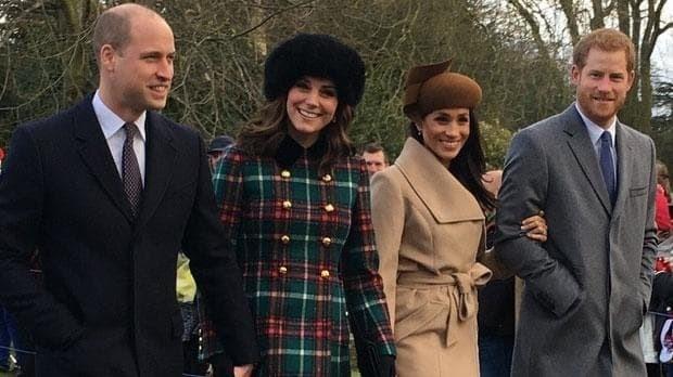 Meghan Markle joins Royal family for Christmas Day church service at Sandringham