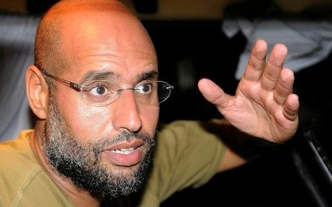 Gaddafi's son Saif 'to run for Libyan president' in 2018 elections