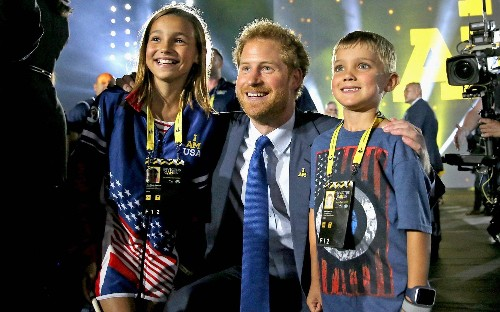 Invictus Games 2016: Prince Harry and Michelle Obama officially open Orlando games, in pictures