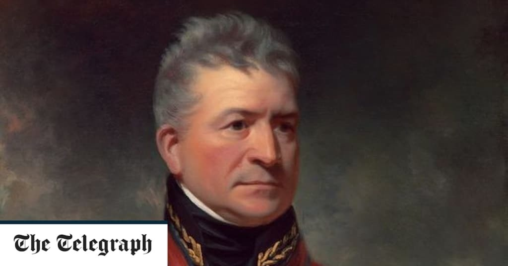 Queen's portrait of Waterloo hero amended to include slavery links