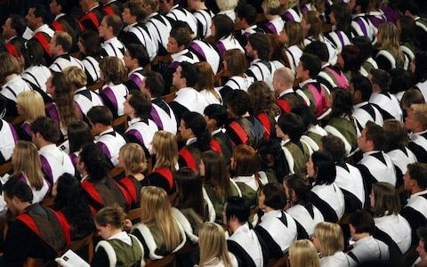 EU students to get free university tuition in Scotland until 2024 while English pay up to £9,250 a year