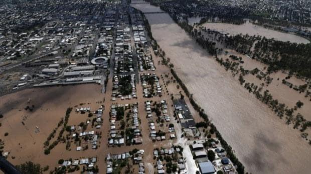 Remnants of Cyclone Debbie leaves New Zealand underwater