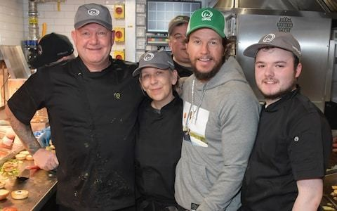 'I order four or five burgers at a time': Mark Wahlberg shares a taste of the new Wahlburgers in Covent Garden