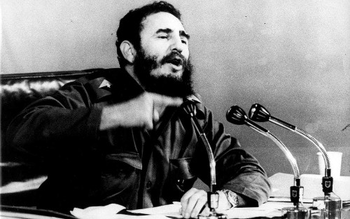 Fidel Castro: The Cuban revolutionary and president - in his own words