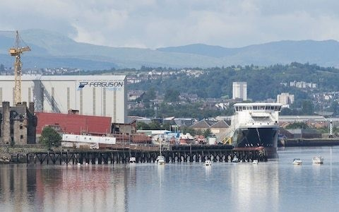 Scottish Government gave Ferguson ferry contract to highest £97m bidder due to 'vested interest or corruption'