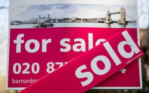 London house prices keep falling while South East goes into reverse
