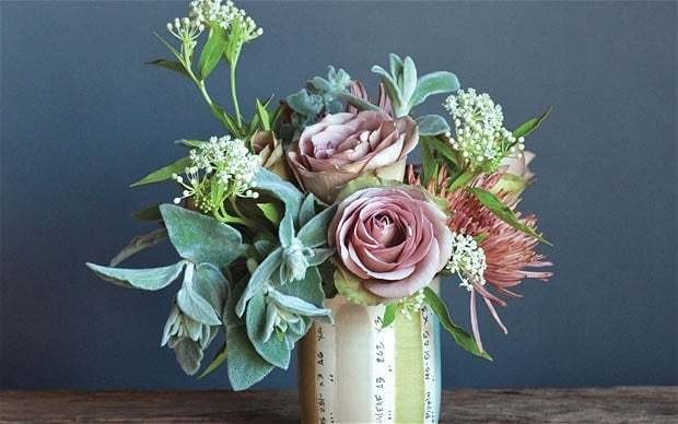 A recipe for blooming lovely flower arrangements