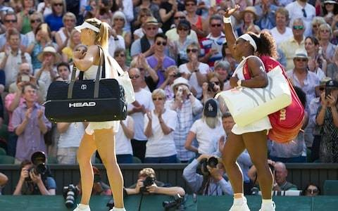Maria Sharapova's so-called rivalry with Serena Williams will define her career - she made sure of that