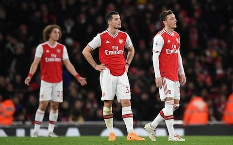 With their toughest fixtures yet to come, Arsenal may face a battle to reach magic 40 points