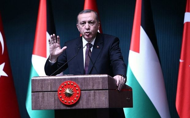 Turkish president Recep Tayyip Erdogan: I want to be like Queen of UK