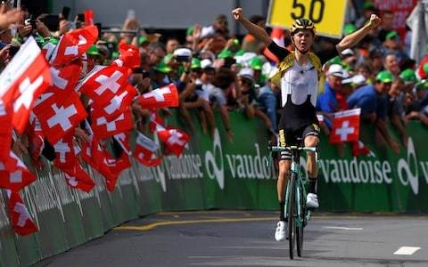 Tour de Suisse 2019, stage six results and standings: Antwan Tolhoek holds off late charge from Egan Bernal for stage win