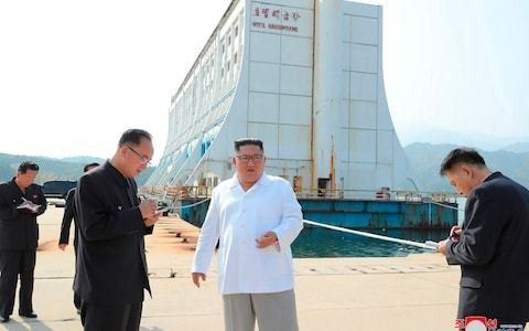 Kim Jong-un orders demolition of South Korean-funded buildings at flagship tourist resort