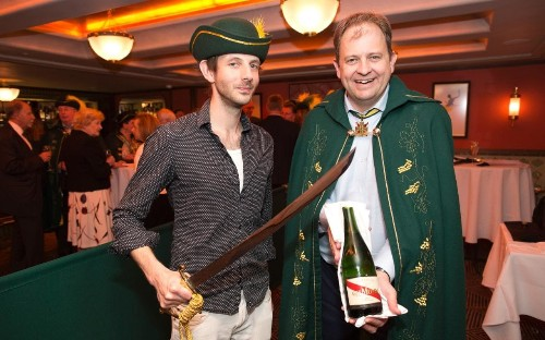 The art of sabrage: could you open a bottle of champagne with a sword?