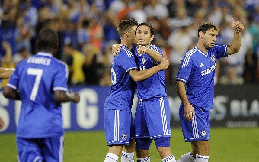 Chelsea 2 Roma 1 – Frank Lampard goal helps Premier League side to victory in pre-season tour match