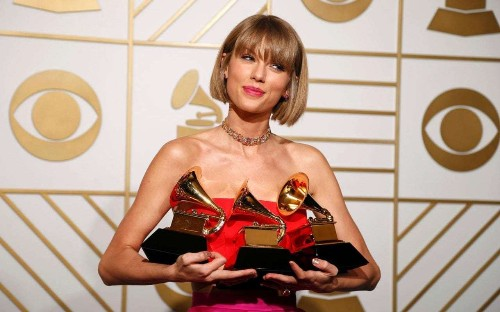 Taylor Swift earned more than One Direction, U2 and Adele combined last year