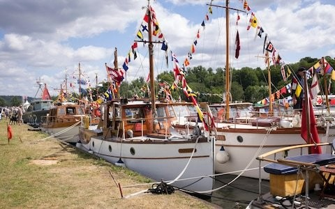 Set sail for a festival of Englishness