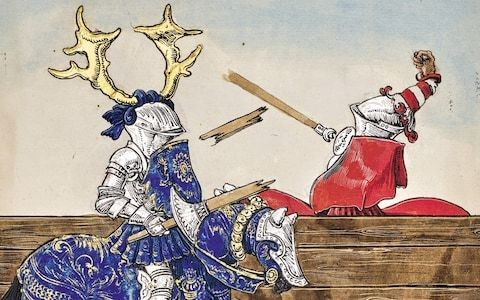 Freydal: the 16th-century comic that captures the thrill of jousting