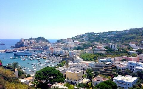 Pontine: the Italian islands where Odysseus was bewitched, Pontius Pilate skinny-dipped and Mussolini was jailed