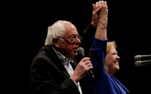 Moderate Democrats launch frantic fight to stop Bernie Sanders
