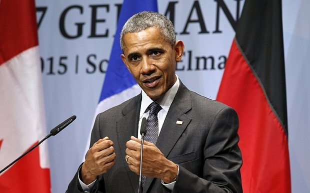 Barack Obama: 'Putin trying to bring back Soviet empire and sacrificing Russian economy'
