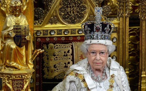 If there's anyone we can trust with our constitution, it's the Queen