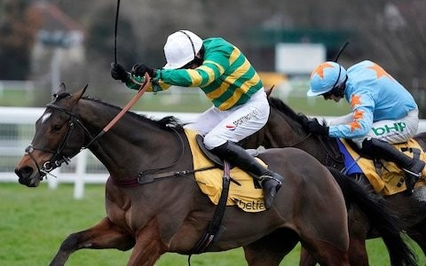 Defi du Seuil hangs on at Sandown to show winning credentials